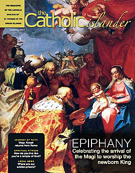 January 2014 Catholic Islander cover, small