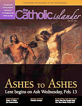 The Catholic Islander Cover, February 2013