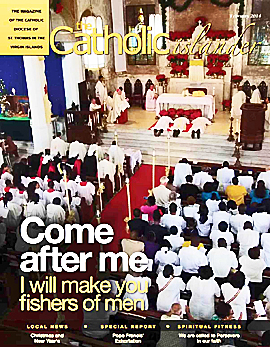 February 2014 Catholic Islander cover, small