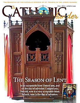April 2014 Catholic Islander cover