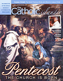 June 2011 Catholic Islander Cover