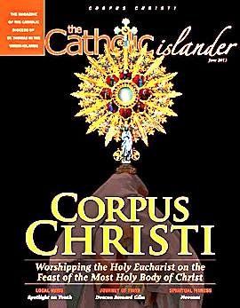 Catholic Islander Cover June 2913