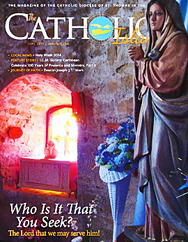 June 2014 Catholic Islander small cover