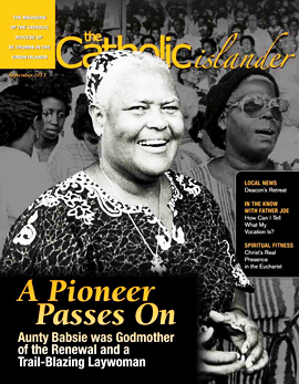 Catholic Islander, September 2013 cover