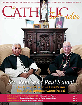 Catholic Islander, September 2014 Cover Thumbnail