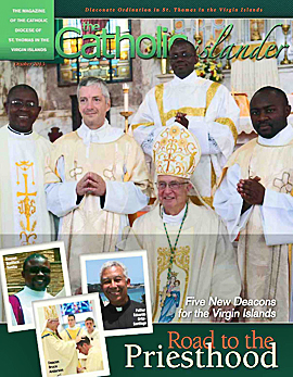 October 2013 Catholic Islander Cover