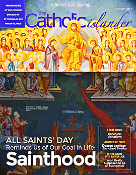 Catholic Islander Cover (small)   November 2013