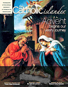Catholic islander, December 2013 cover (small)